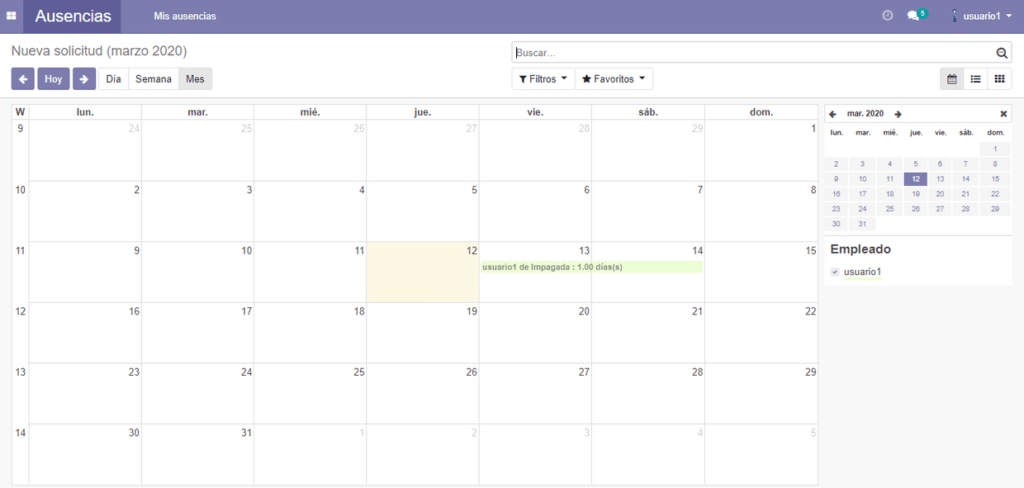 odoo-calendario-ausencias-itecan.es